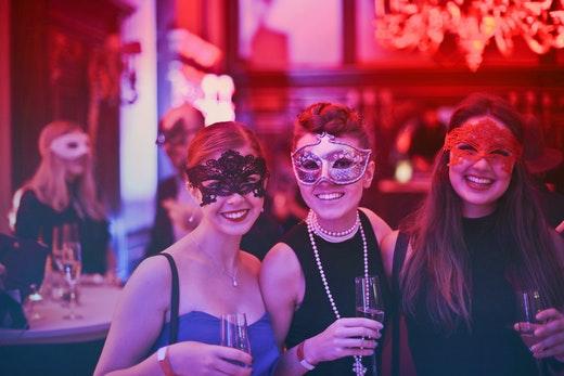 women partying in miami, florida